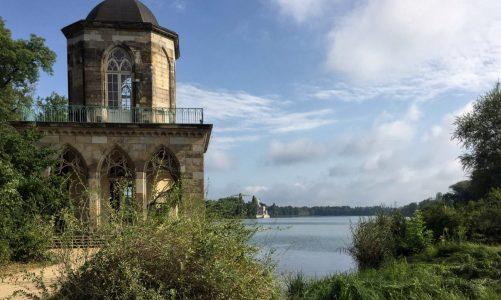 Die Gotische Bibliothek im Neuen Garten von Potsdam