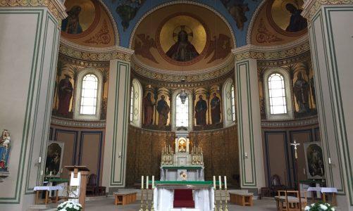Die Katholische Stadtkirche St. Peter und Paul in Potsdam