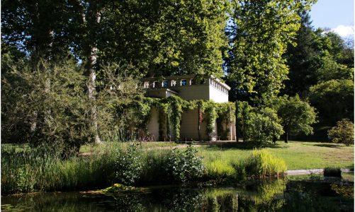 Der Paradiesgarten in der Maulbeerallee