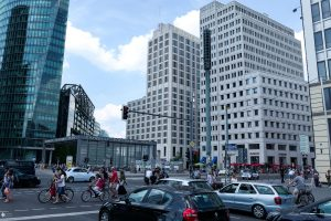 Blick auf Beisheim Center Potsdamer Platz 2016