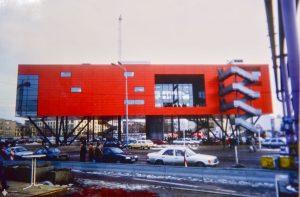 Infobox am Potsdamer Platz 1994