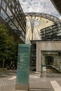 Potsdamer Platz Sony Center