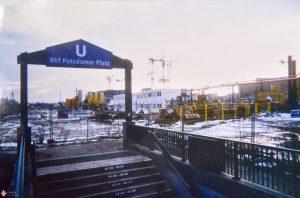 U-Bahnhof am Potsdamer Platz 1994