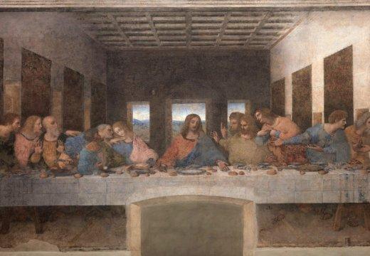 Decoding Da Vinci's 'Last Supper': a study of the ... Da Vinci Last Supper Original