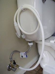 diaper sprayer bidet attached water valve