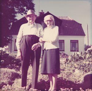 Simon og Anna Hansen ca. 1970