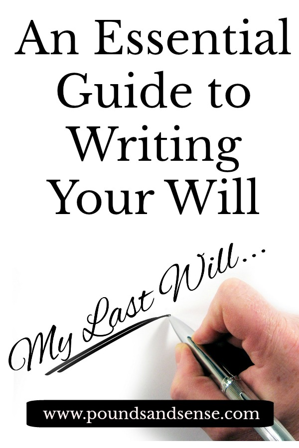 An Essential Guide to Writing Your Will (Infographic)