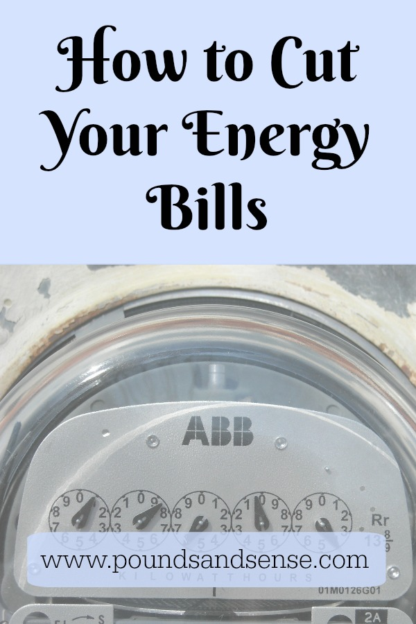 How to Cut Your Energy Bils