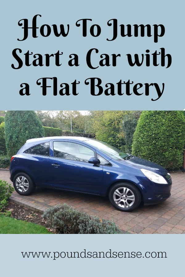 How to Jump Start a Car with a Flat Battery