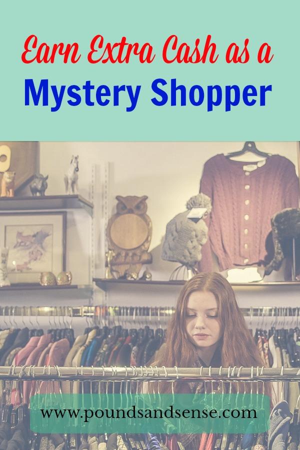 Earn Extra Cash as a Mystery Shopper