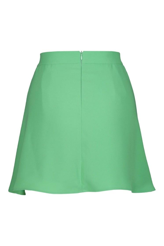 Poupine minigonna-pantaloncino verde