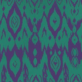 Ikat Viola e Verde