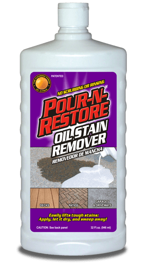 How Remove Oil Stains Concrete