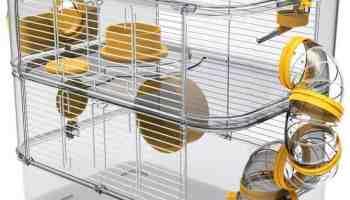 cage pour hamster plastique