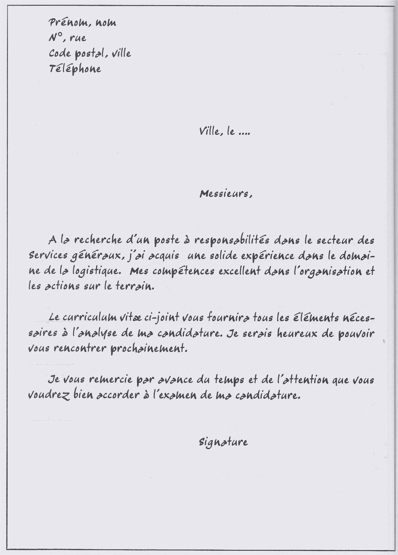 Lettre De Motivation Manutentionnaire Exemple De Lettre De Motivation Manutentionnaire Exemple Lettre