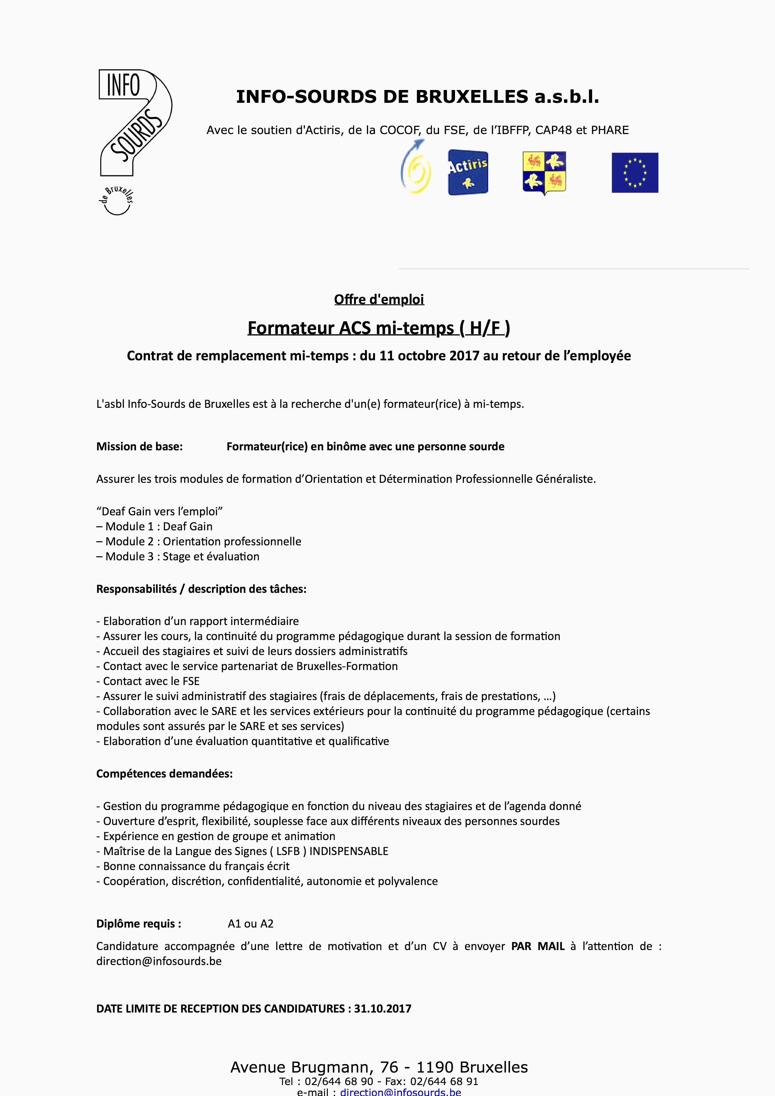 Stage Immersion En Entreprise Pole Emploi Lettre De Motivation Stage Immersion En Entreprise Pole Emploi