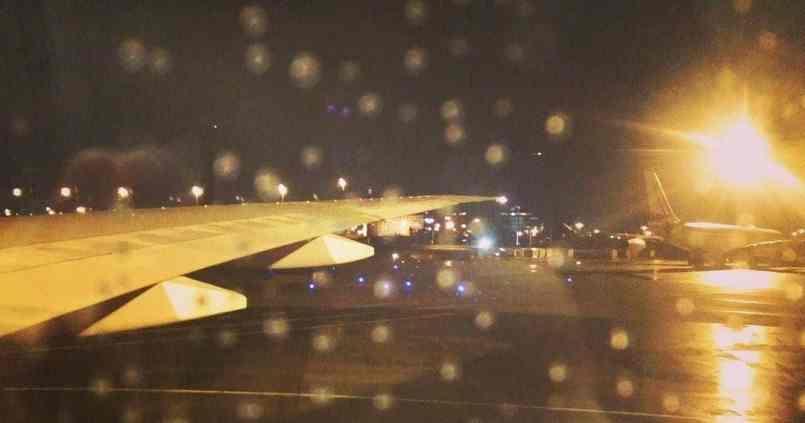 Dernières minutes avant le grand départ. Des larmes, de la pluie, des grèves et beaucoup d'amour. :) 12
