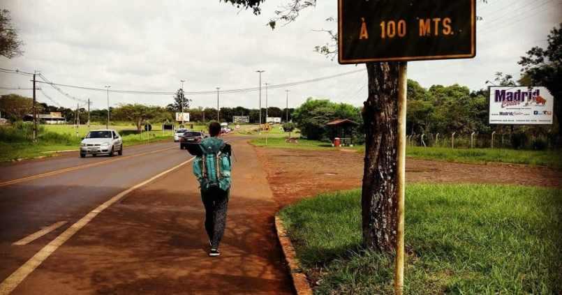 Passage de frontière Brésil-Argentine à pieds. Le tour du monde continue sur les chapeaux de roue. #enmodebaroudeurs 1