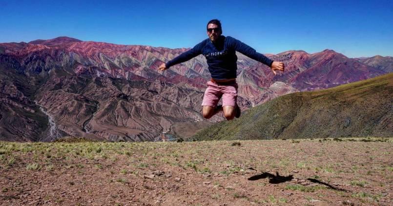 Hornocal, la montagne au 14 couleurs. J'ai essayé d'assortir le short. 1