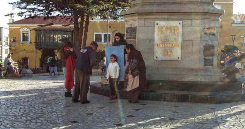 Photomaton Bolivien. 1