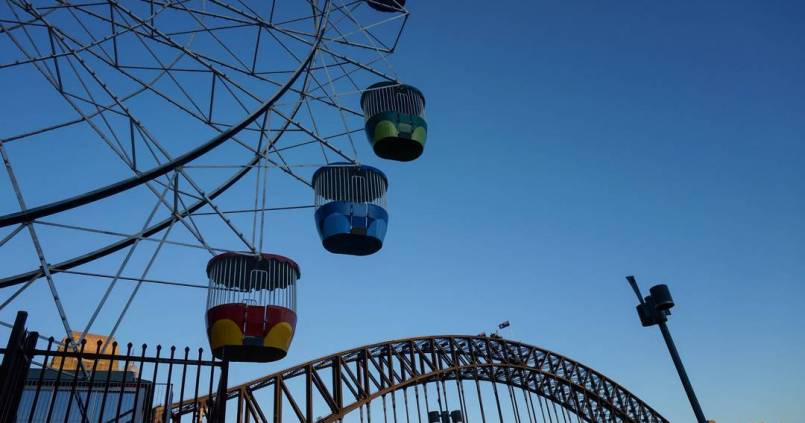 Luna Park x Harbour Bridge 1