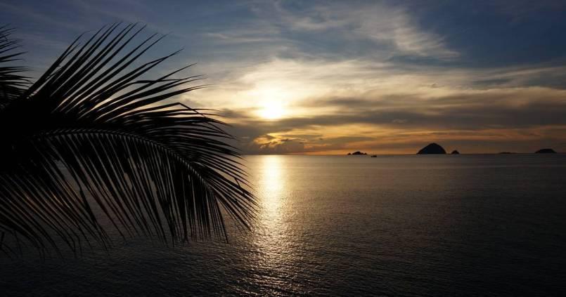 Apéro avec vue aux îles Perhentian. 1