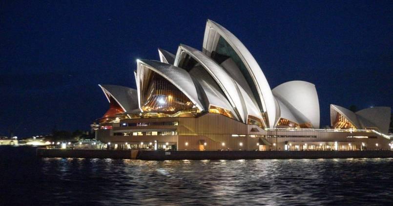 L'opéra de Sydney. The Sydney Opera house. #sydney #opera #operahouse #australia #bynight 1