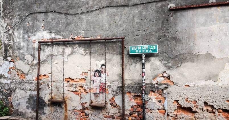 Georgetown, la ville graffiti. 1