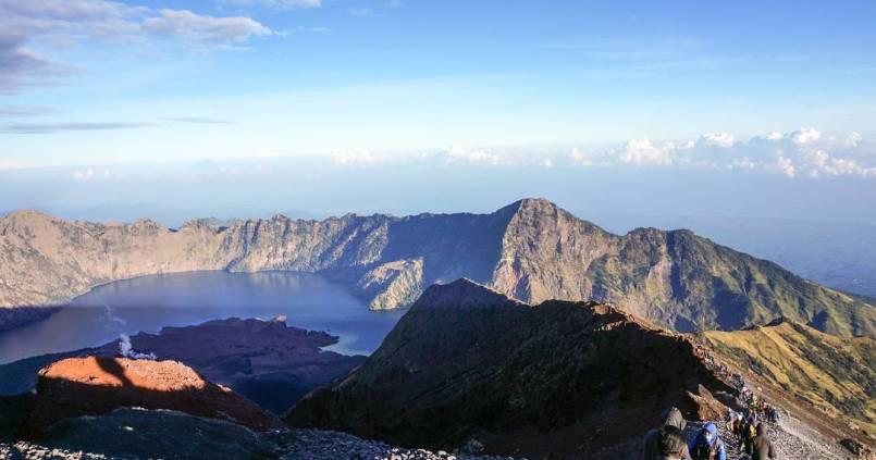 C'est haut, mais c'est beau : le mont Rinjani à Lombok. 1
