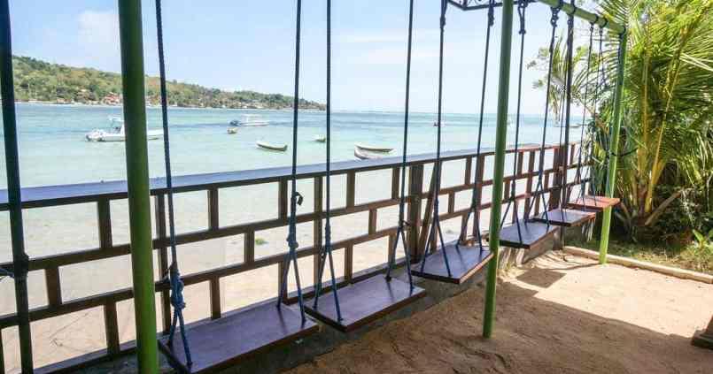 Une des plus belles vues de Nusa Lembogan. 1