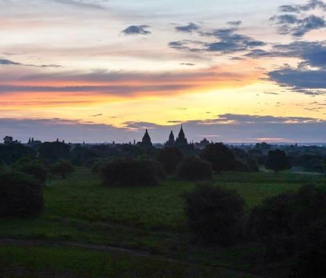 Encore un moment magique à Bagan. 7