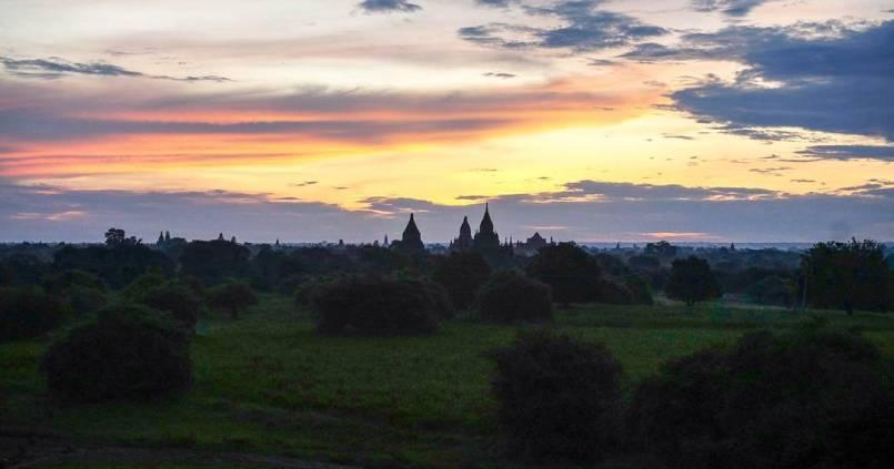 Encore un moment magique à Bagan. 1