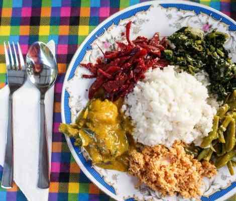Rice and curry au Sri Lanka, la spécialité incontournable du pays. 7