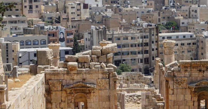 Passé & présent à Jerash 1