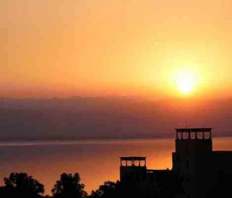 Couché de soleil sur la mer morte. 🌅 #mermorte #deadsea #jordan #jordanie #travel #sunset 15