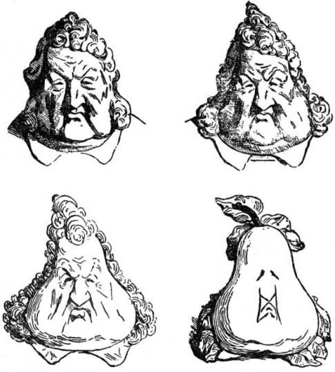 Transformation en poire de Louis-philippe - Wikipedia