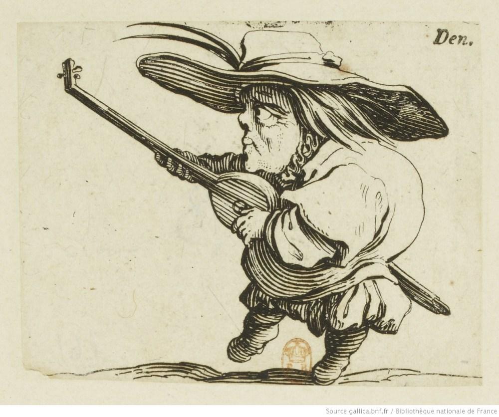 14-Le bossu jouant de la mandoline
