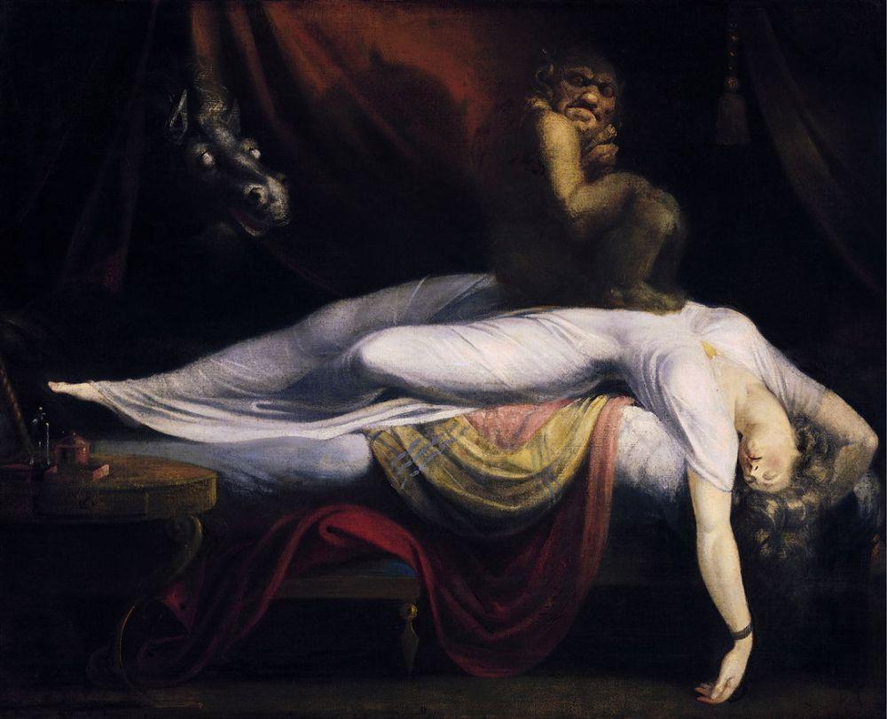 The Nightmare, (1781), Detroit Institute of Arts