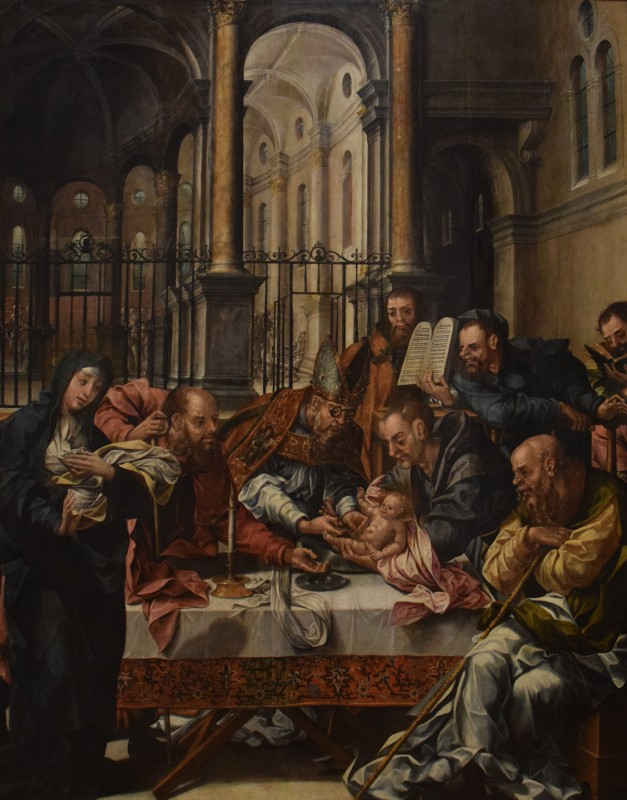 La circoncision, vers 1550, MNAA Lisbonne, INV 181 PINT