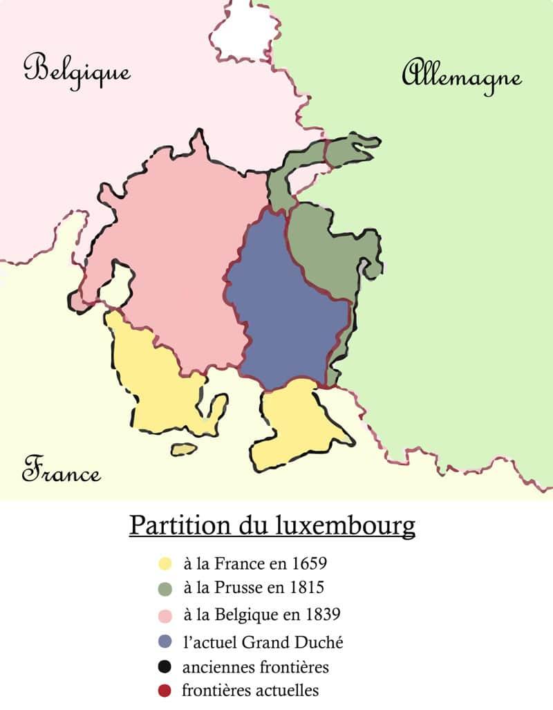 Partition du Luxembourg