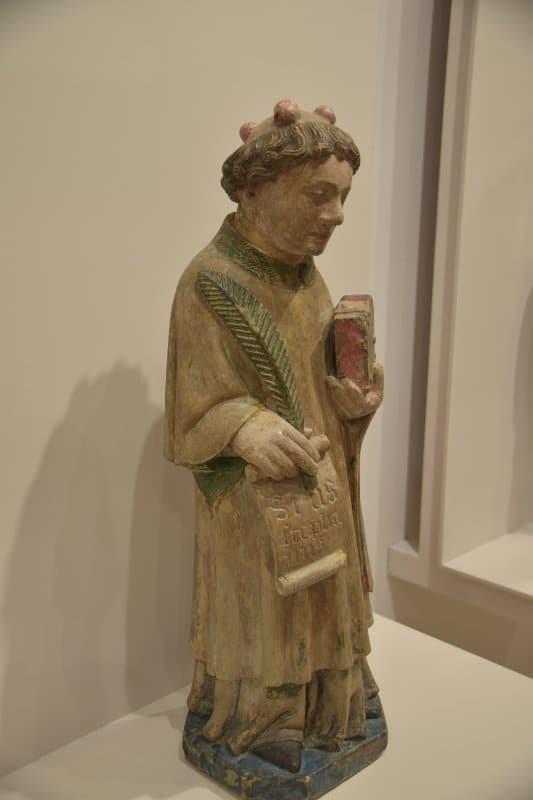 Joao Afonso - saint Etienne - 1440-1450 - MNAA - Lisbonne - INV 1027 ESC