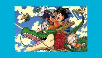 Dragon Ball um entre os mais famosos exemplos de anime Shounen