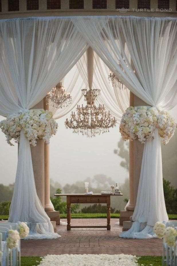 outdoor-wedding-ceremony- +5 Tips to Decorate Your Outdoor Wedding