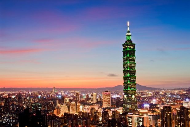 Taipei-101-from-Elephant-Mountain-1919hours What Are The Best 15 Skyscrapers in the World?