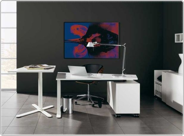 Wooden-Modern-Home-Office-Decorating-Ideas1 The Most Inspiring Office Decoration Designs