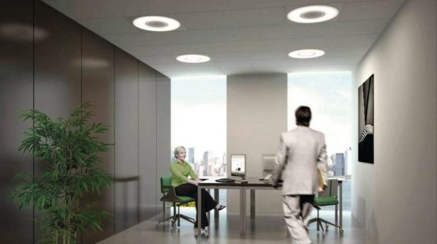 round-recessed-led-ceiling-luminaire- LEDs 10 uses in Architecture