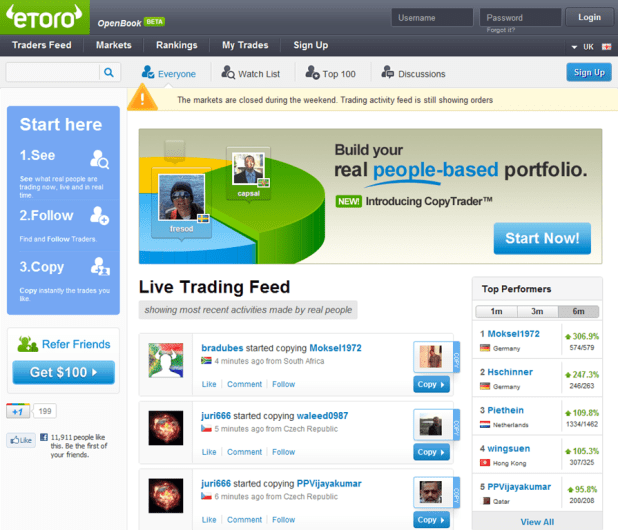 etoro-open-book1 Top 10 Forex Brokers