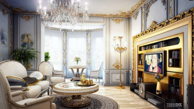 comfortable-extravagant-victorian-living-room-decorating Stunning And Contemporary Victorian Decorating Ideas