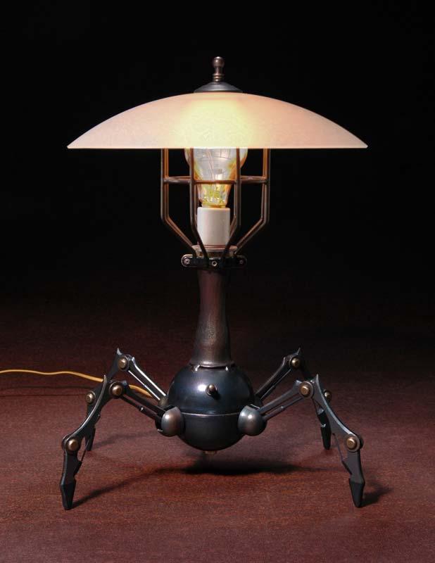 quad-bot-lamp 35 Amazing Robo Lamps for Your Children's Room