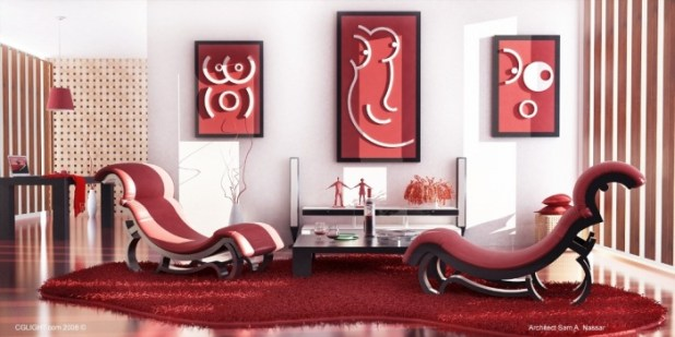 Interior-Red Discover the 10 Uncoming Furniture Trends